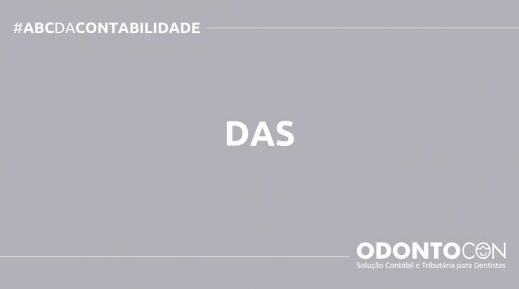 ABC DA CONTABILIDADE BLOG ODONTOCON 750x419 - O QUE É DAS? SAIBA AGORA!
